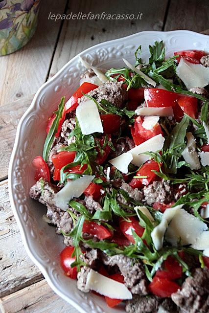 ricetta straccetti alle verdure