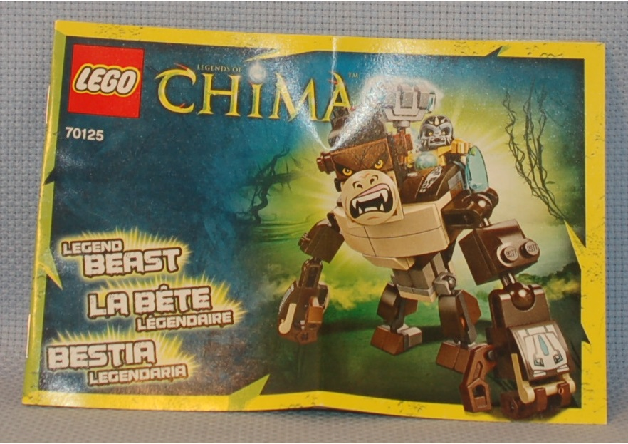 The Mobile Frame Garage Review 70125 Chima Gorilla Legend Beast