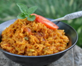 Red Rice with Tomatoes