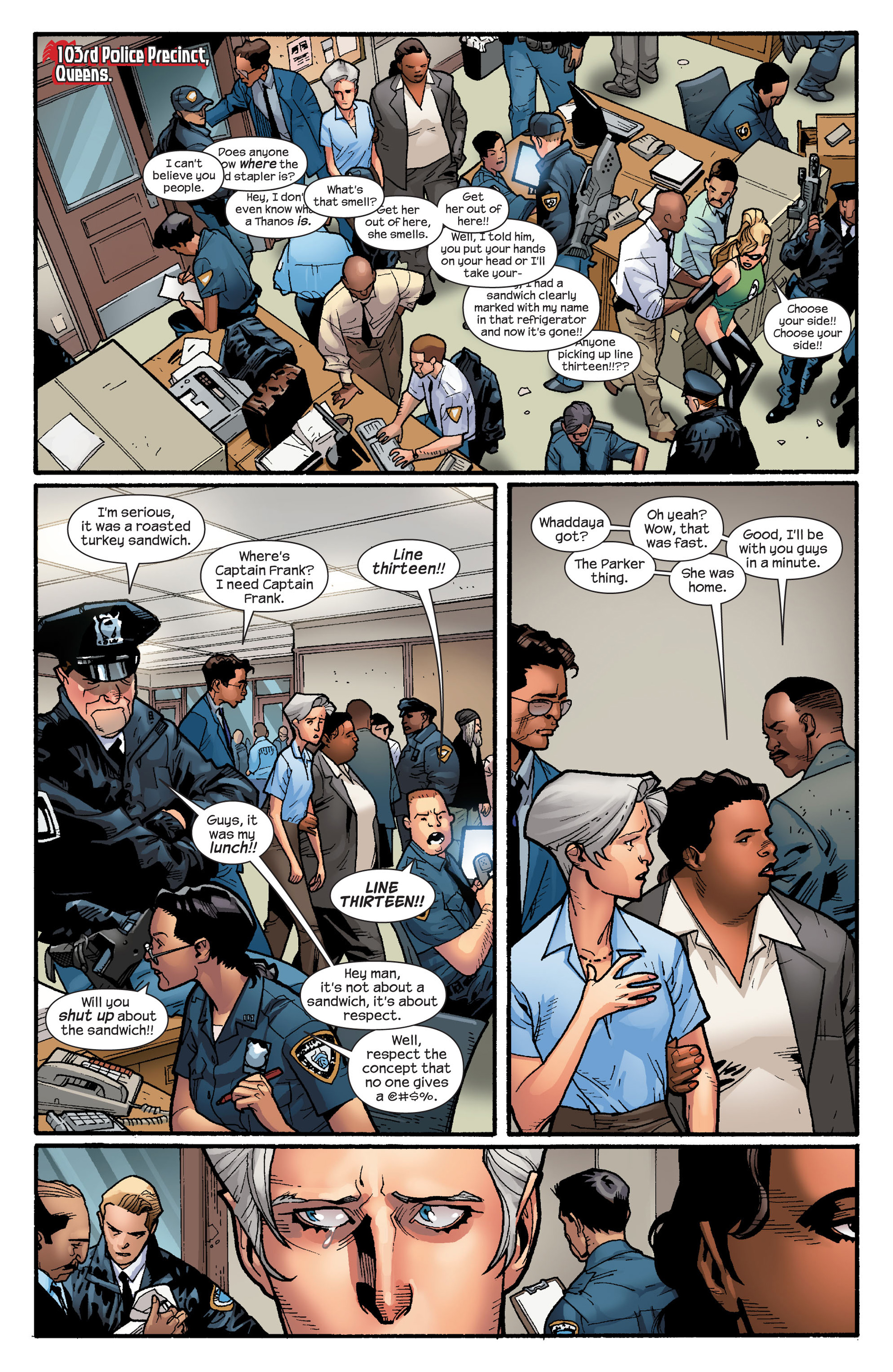 Read online Ultimate Spider-Man (2000) comic -  Issue #130 - 3