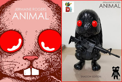 Designer Con 2018 Exclusive Animal Shadow Edition Resin Figure by Jermaine Rogers