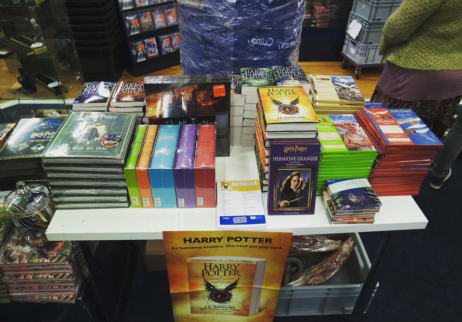 Livres Harry Potter Soirée Look Blog Coin des licornes littéraire lifestyle Toulouse
