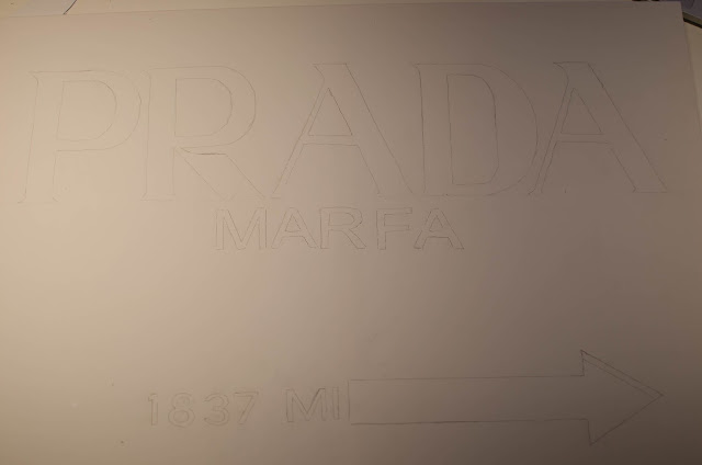 Do it Yourself , Tableau Prada marfa