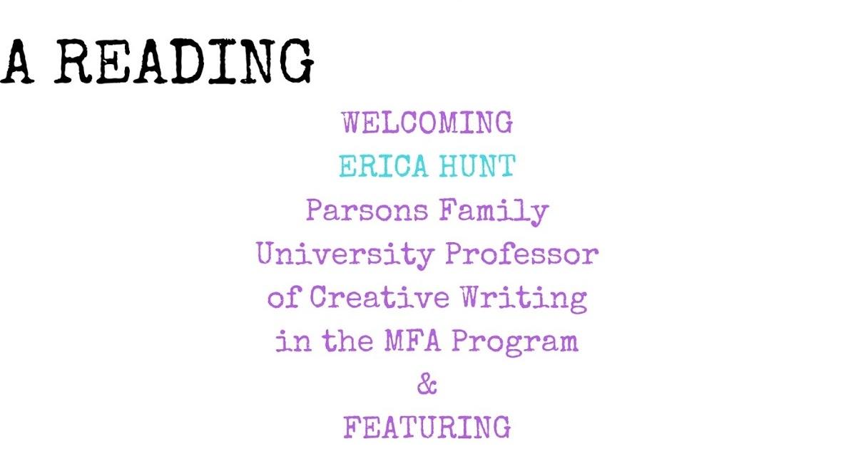 ma creative writing reading list