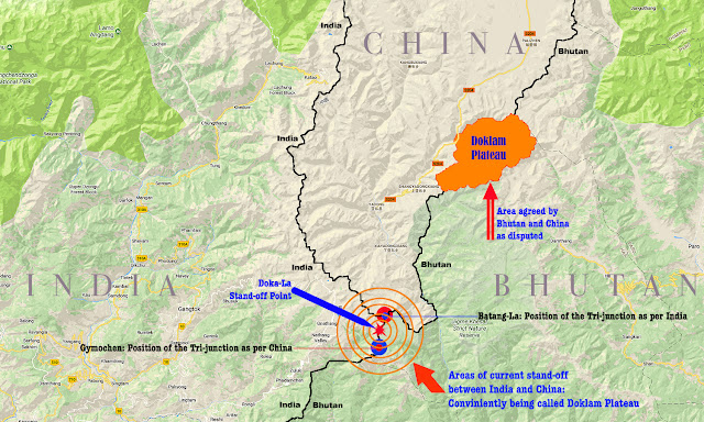 Doklam Map 2