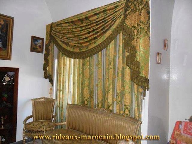 rideaux marocain. Black Bedroom Furniture Sets. Home Design Ideas