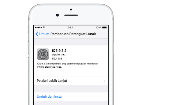 Tips Update iOS Yang Aman, Via OTA Atau iTunes