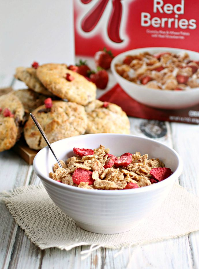 Special K® Red Berries Breakfast Scones