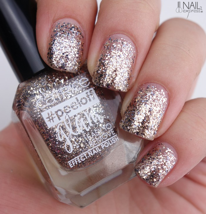Catrice-03 When in doubt, just add glitter_#peeloff glam_swatch