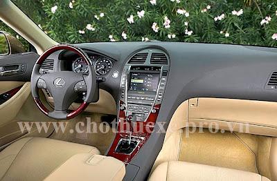 Cho thuê xe Lexus VIP ES350 tại Hà Nội 2