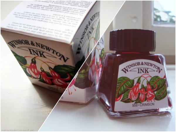 Tinta Rojo Carmesí Winsor&Newton
