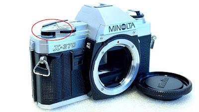 Minolta X-370 (Chrome) Body #782