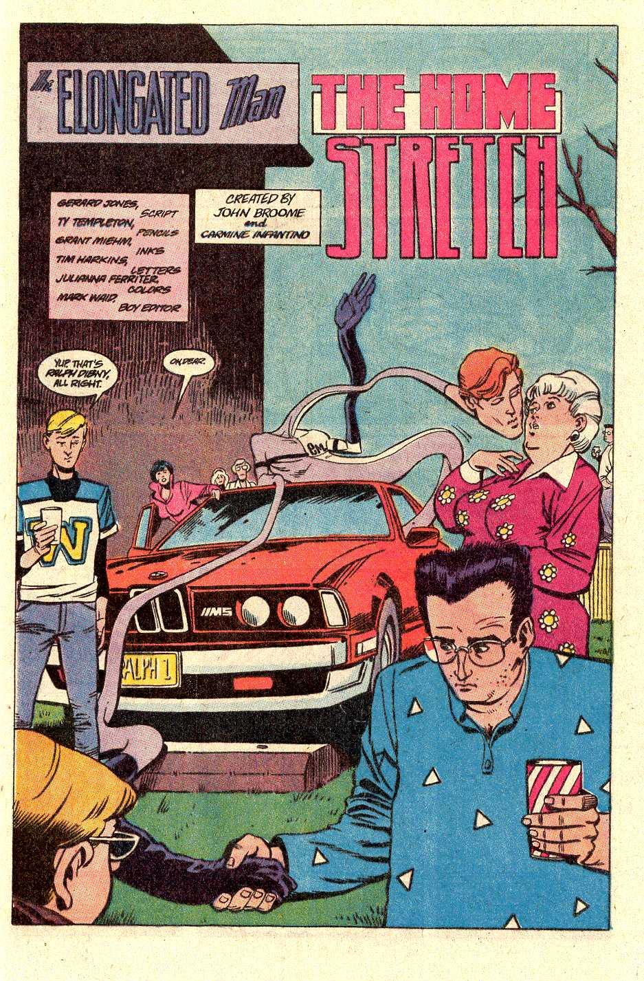 Read online Secret Origins (1986) comic -  Issue #30 - 4