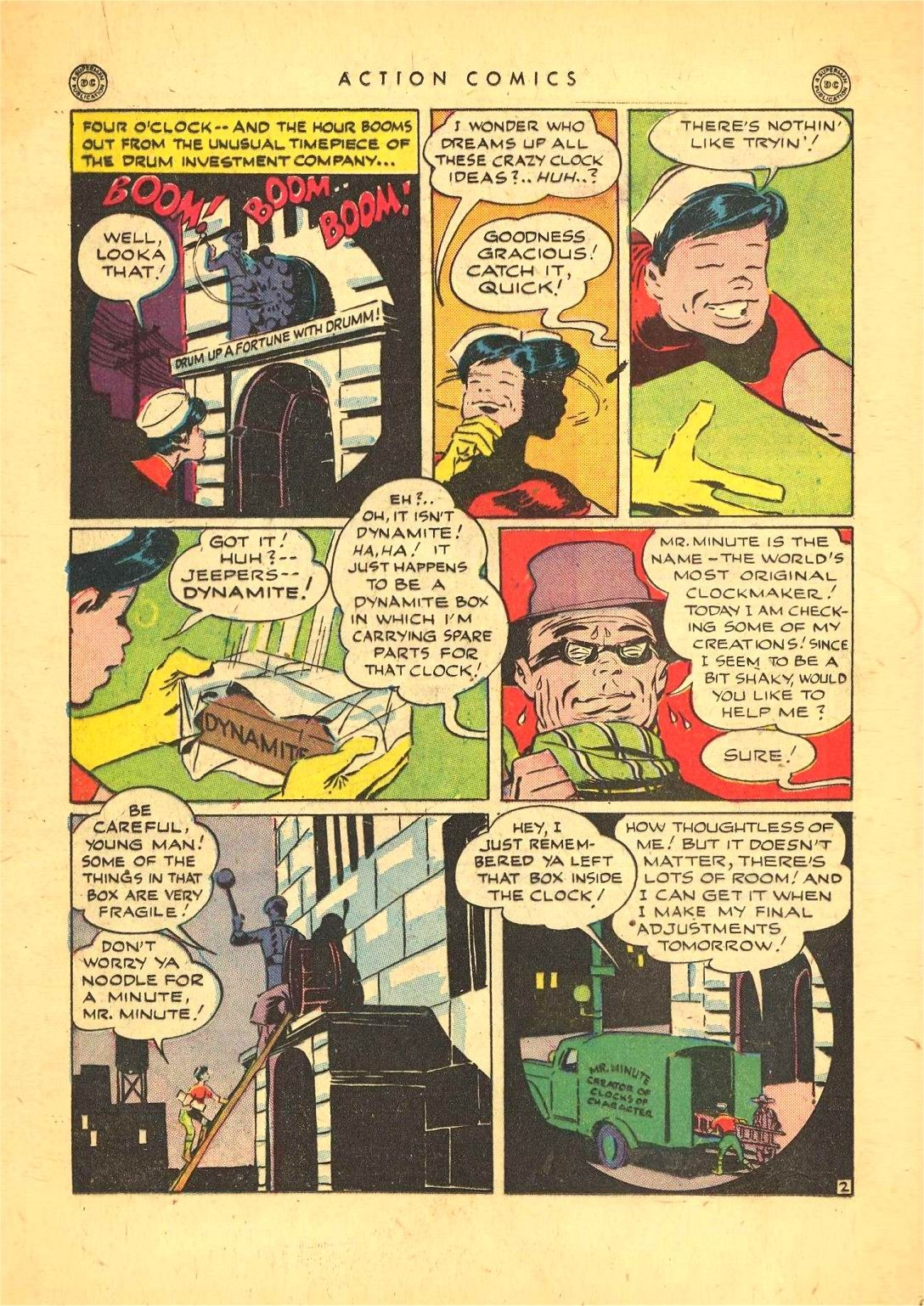 Read online Action Comics (1938) comic -  Issue #92 - 24
