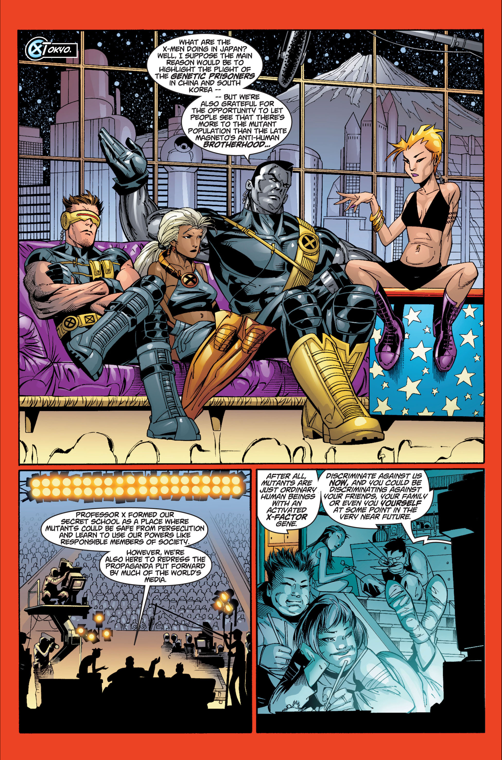 Read online Ultimate X-Men comic -  Issue #7 - 12