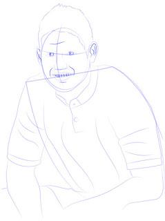 Langkah 8. Super Simpel Menggambar James Rodríguez