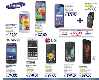 smartphone esselunga in offerta