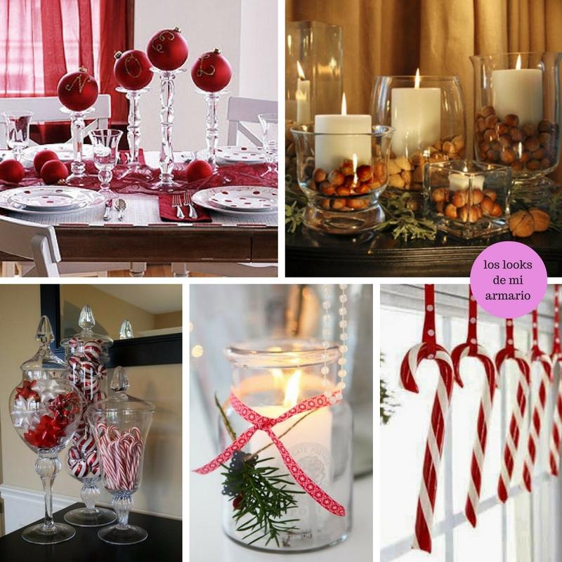 Mesa de navidad decoracion los looks de mi armario - Decoracion mesas para navidad ...