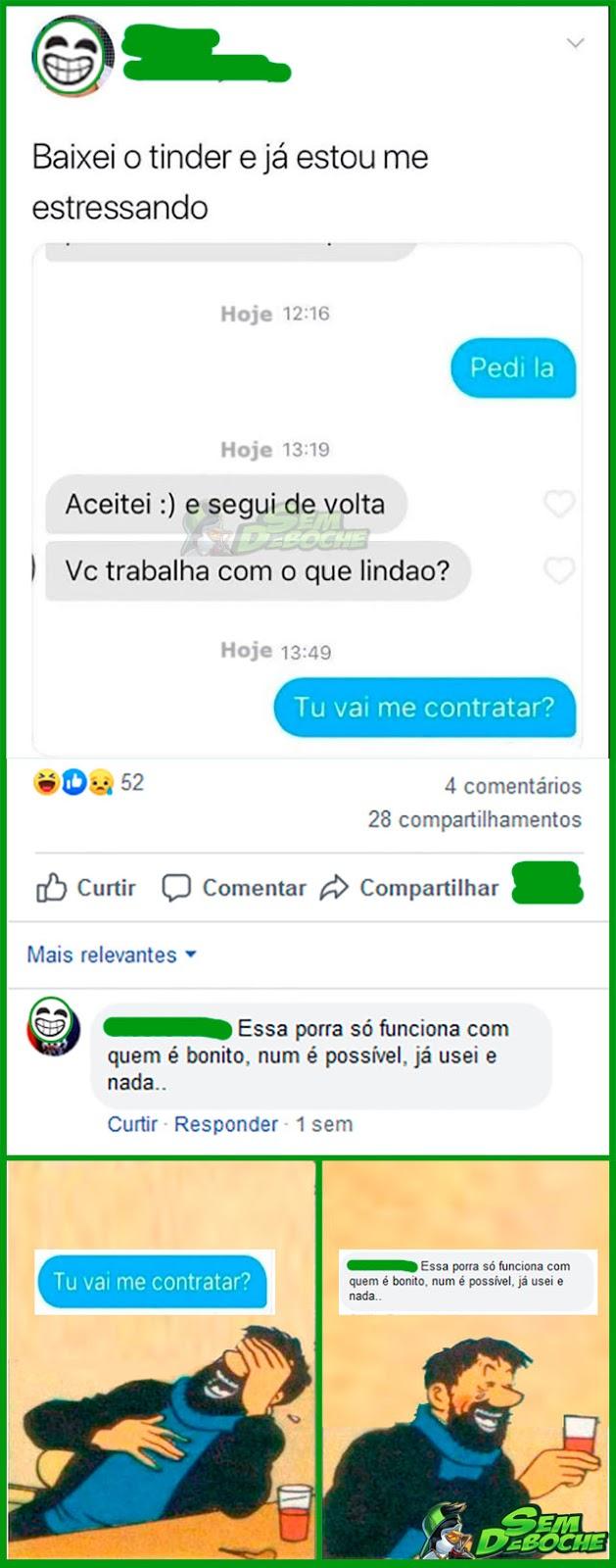 FALA LOGO, SENÃO A GENTE JÁ ENCERRA POR AQUI