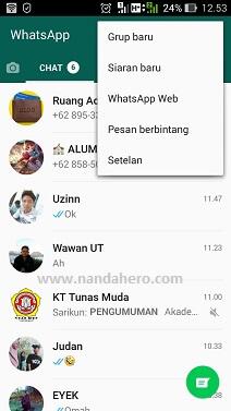 Agar FotoVideo WhatsApp Tidak Tersimpan Otomatis di Galeri Android