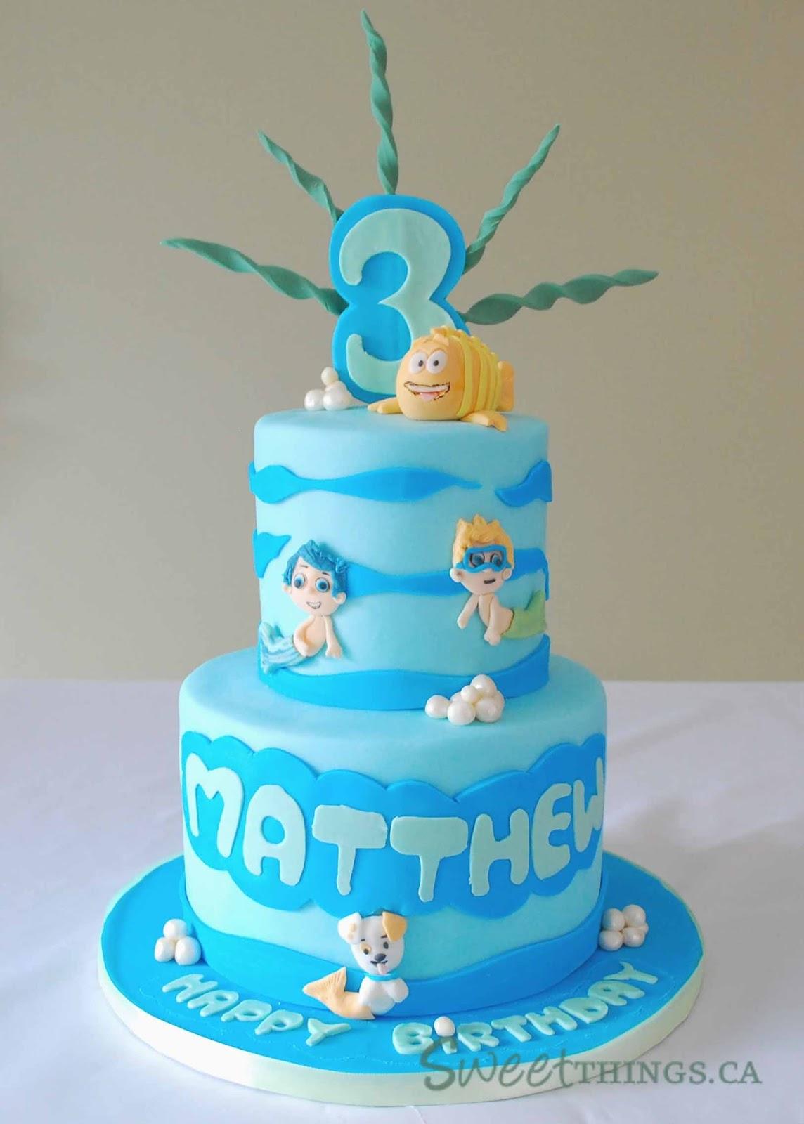 Sweetthings Bubble Guppies Cake