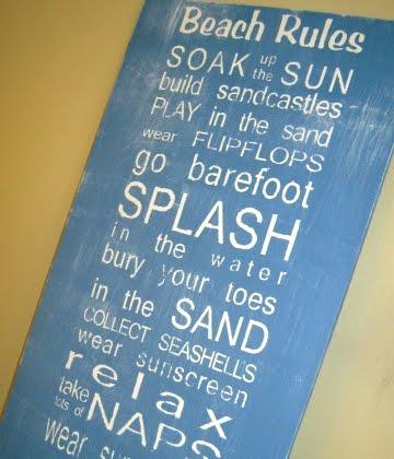 subway art beach rules
