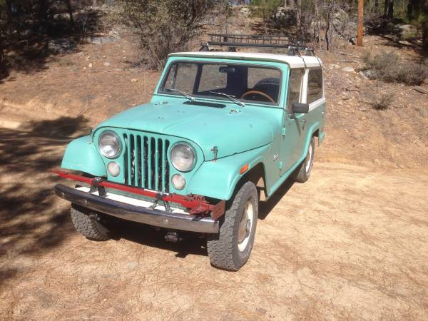 Reliable, 1971 Jeepster Commando