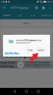 Trik Cara Internet Gratis Dengan Http Injector 2017