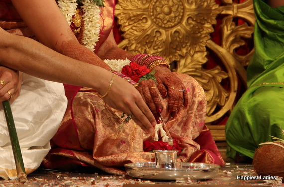 south indian wedding rituals
