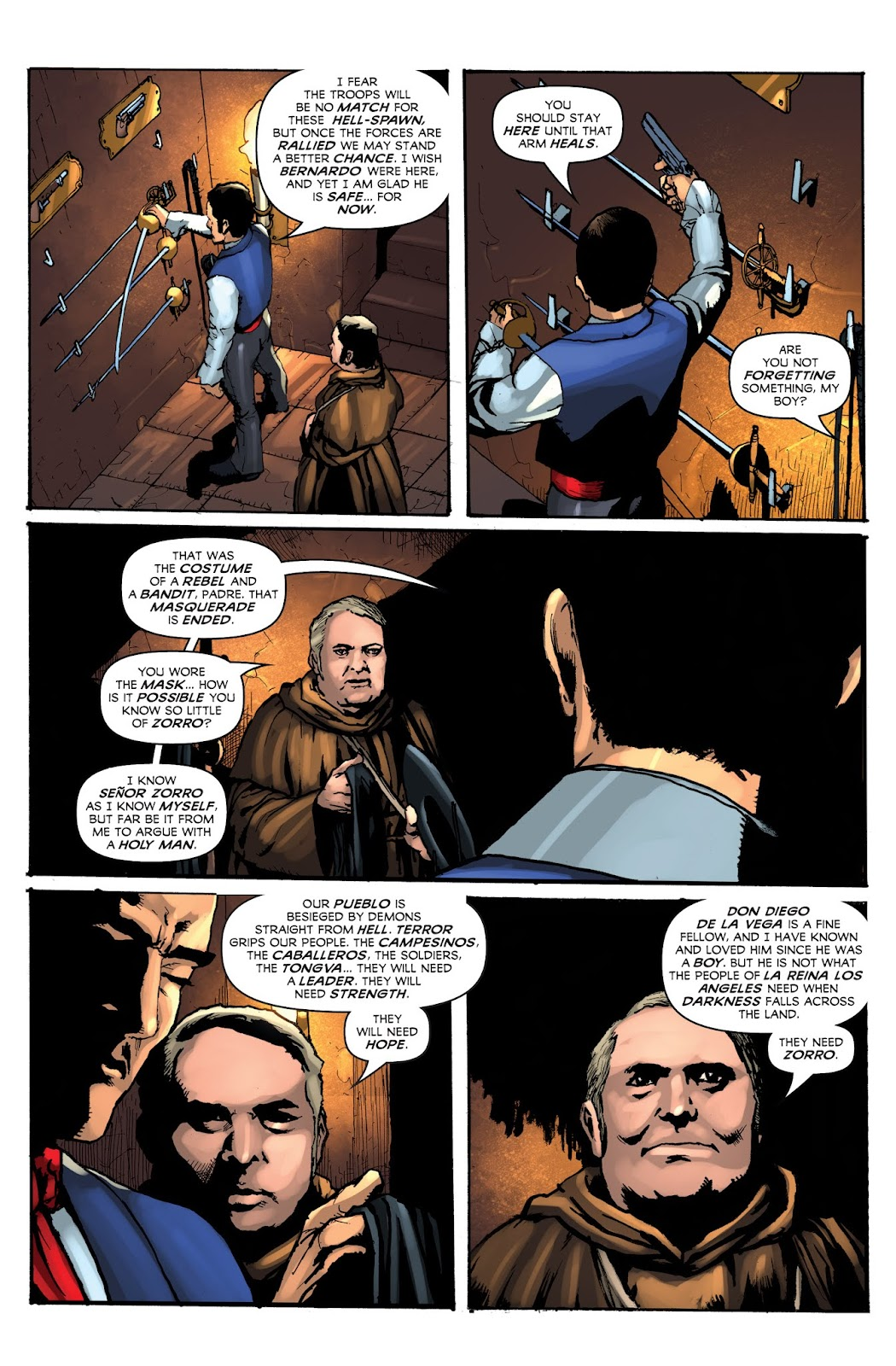 Zorro: Swords of Hell Issue #1 Page 17
