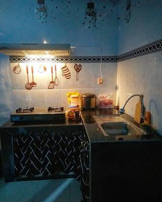 dapur sederhana sekali
