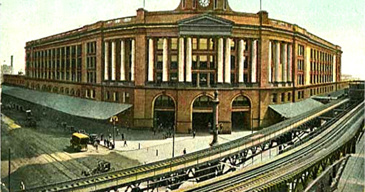 And This Is Good Old Boston Atlantic Avenue Trains Times Two