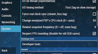 Cara Setting PPSSPP Agar Tidak Lag di Android