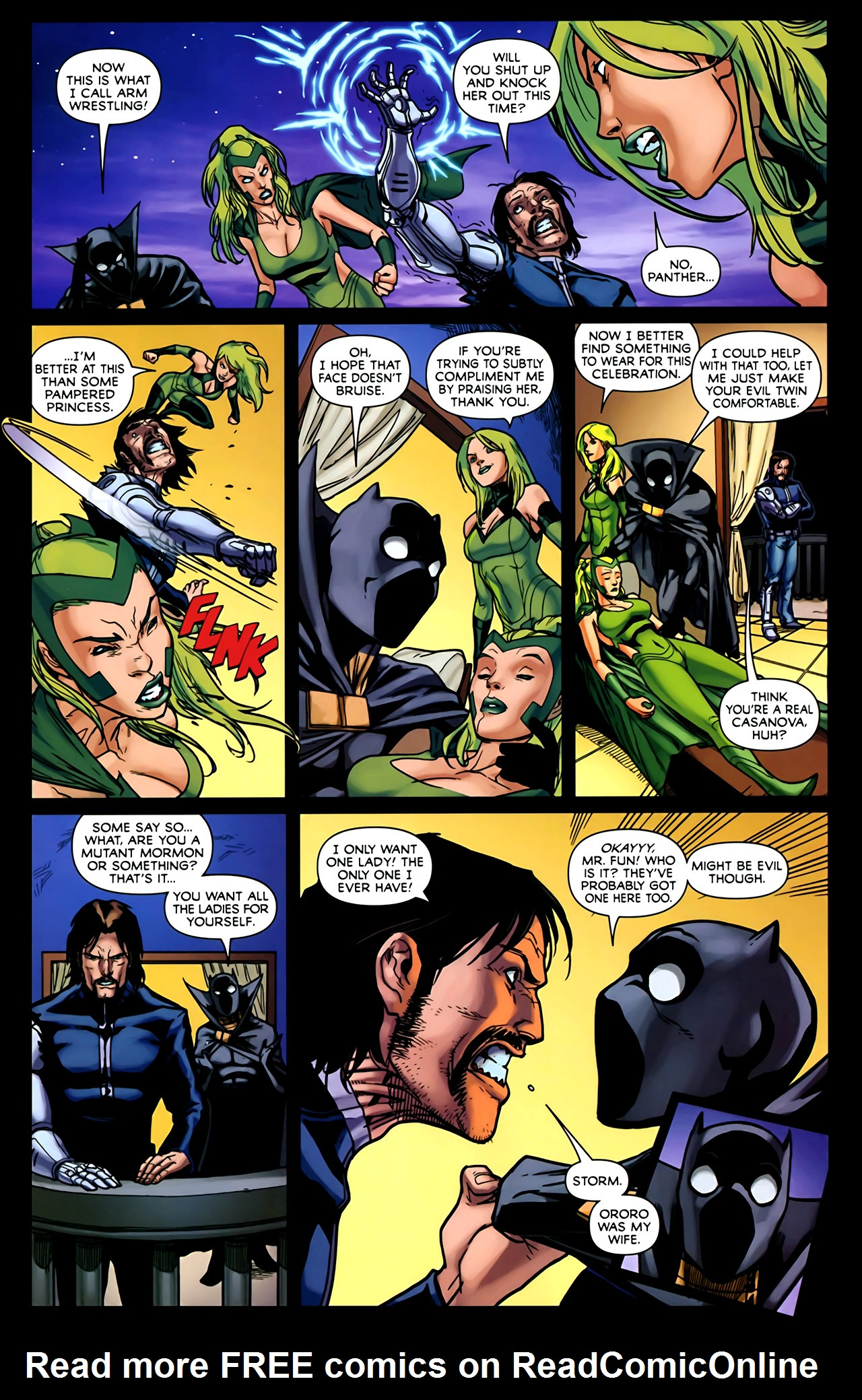 Read online Exiles (2009) comic -  Issue #2 - 15