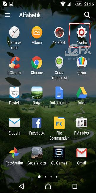 Android Cihazlarda Büyüteç-www.ceofix.com