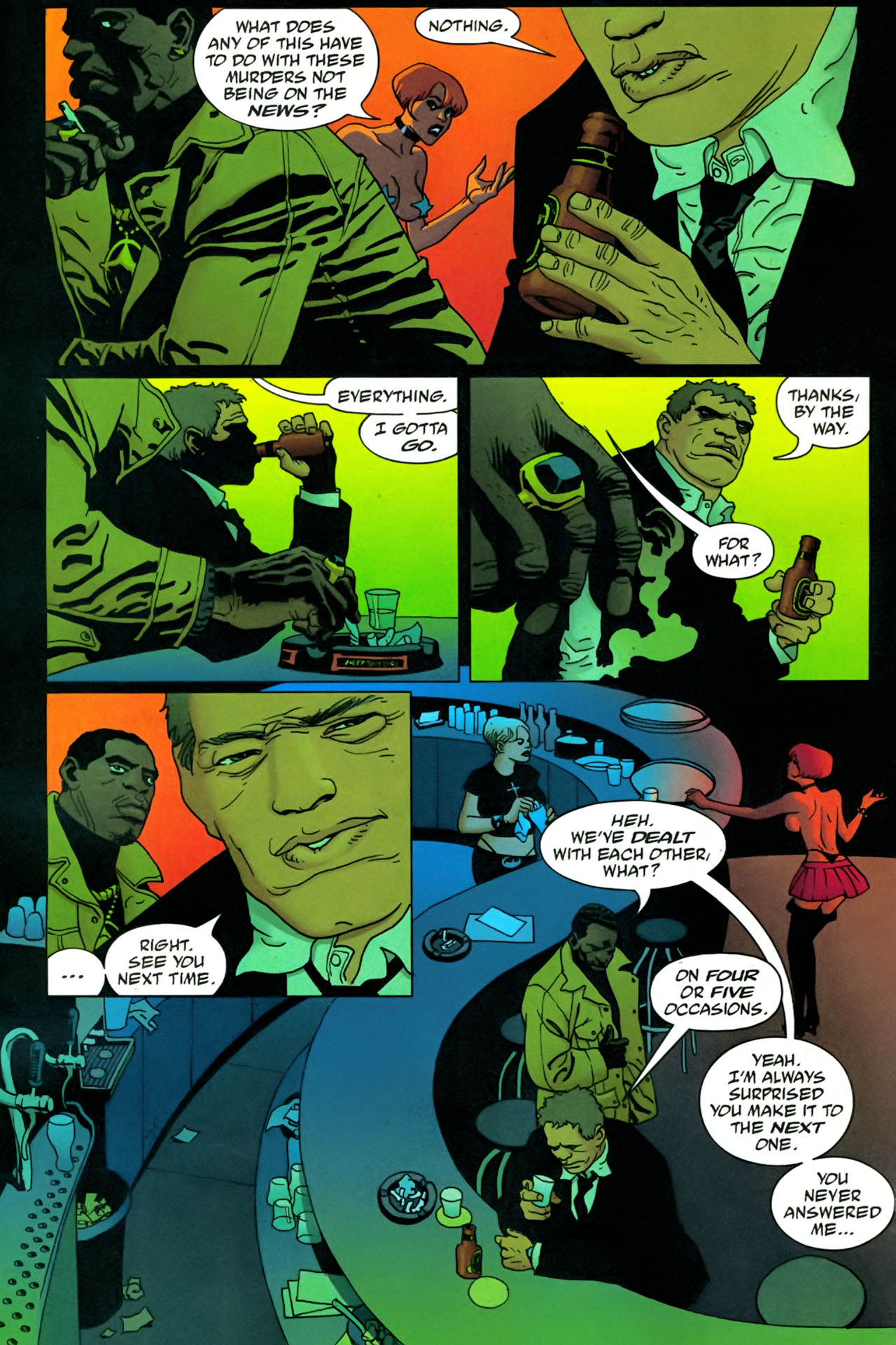 Read online 100 Bullets comic -  Issue #86 - 14