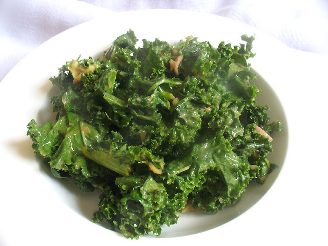 Dressed up Kale Salad