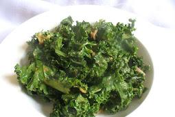 Dressed Up Kale Salad