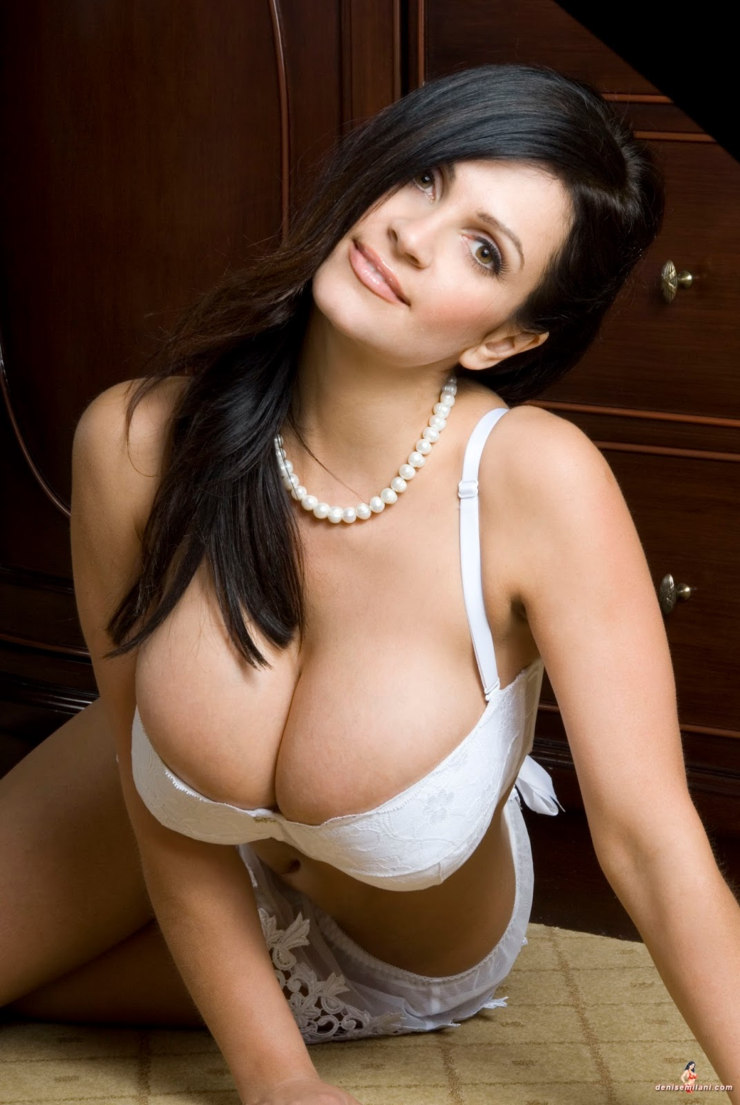 Denise Milani Topless Pictures 39