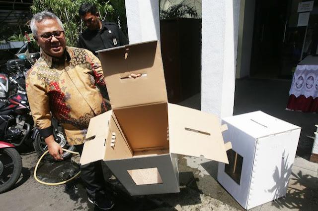Timses Prabowo-Sandi Minta Kotak Suara Disimpan di Koramil