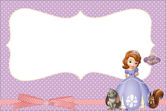 princesinha sofia da disney kit completo com molduras para