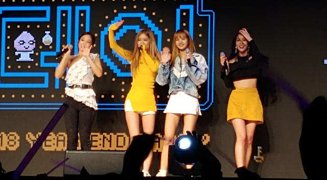 BLACKPINK at the Kakao Games 2018 Year End Party