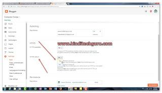 Blogger Custom Domain Par HTTPS SSL Certificate Setup