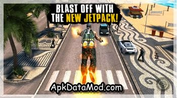 Gangstar Rio City of Saints jetpack shooting