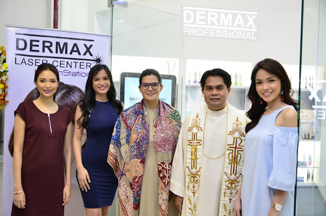 Dermax Ayala Malls the 30th launching was graced by Ana Sideco (Philippine Models Association of the Philippines), Patricia Fernandez (2008 Bb. Pilipinas Internatinal) and Julian Flores (Asia's Next Top Model Cycle 4) and Mall GM Mariana Zobel de Ayala and her team.