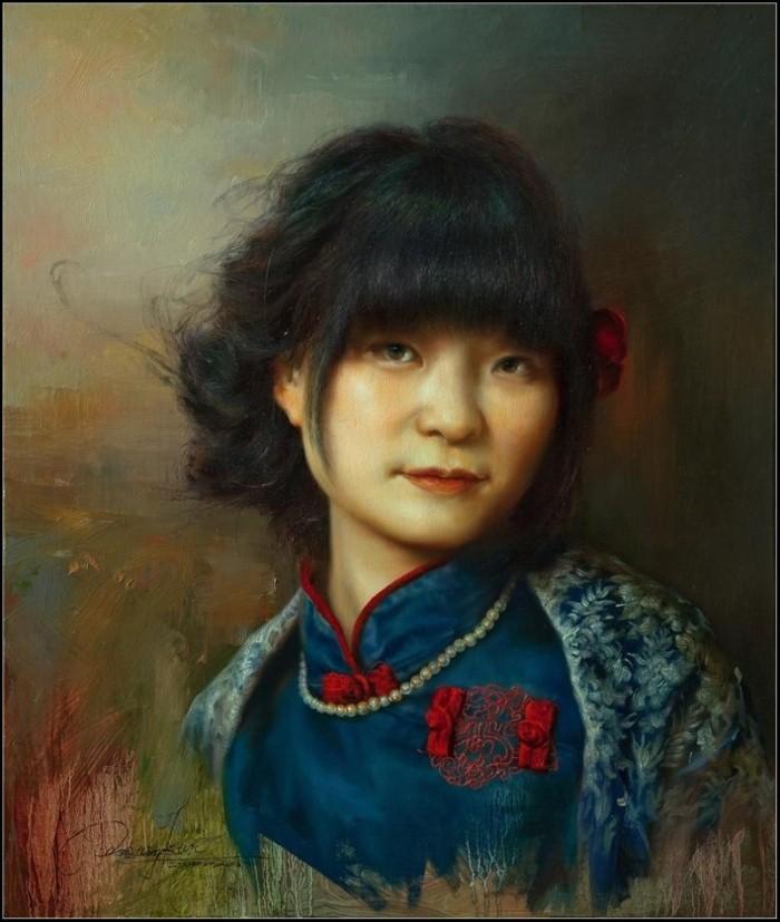 Современный классический реализм. Wang Kun 3