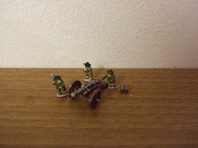 10mm ECW Artillery from Lancer Miniatures