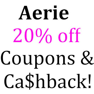 Aerie Coupons February, March, April, May, June 2016