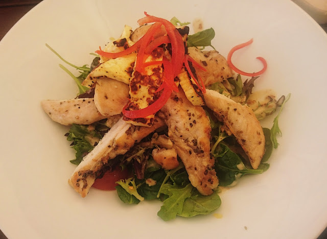 Charlotte's Corner Cafe, Blackburn South, chicken salad