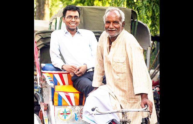 रिक्शा चालक के बेटे ने निकाला पहली बार में  बना IAS का परीक्षा